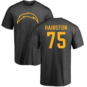 Chris Hairston Los Angeles Chargers Men's Pro Line by Branded One Color T-Shirt - Ash