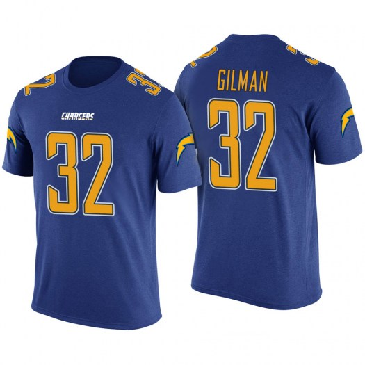 Alohi Gilman Los Angeles Chargers Youth Legend Blue Color Rush T-Shirt